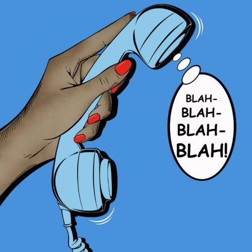 BLAH-BLAH-BLAH-BLAH! II, 2012 - Deborah Azzopardi