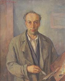 Self-Portrait - Georgi Mashev