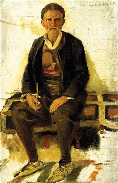 Peasant from Simitli - Ivan Mrkvička