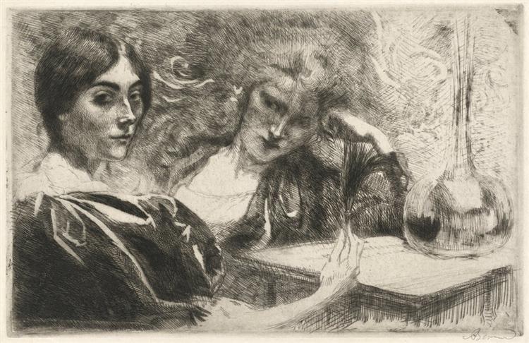 Morphine Addicts, 1887 - Paul-Albert Besnard