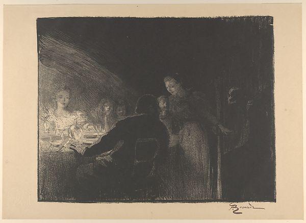 The Visitor, 1893 - Paul-Albert Besnard