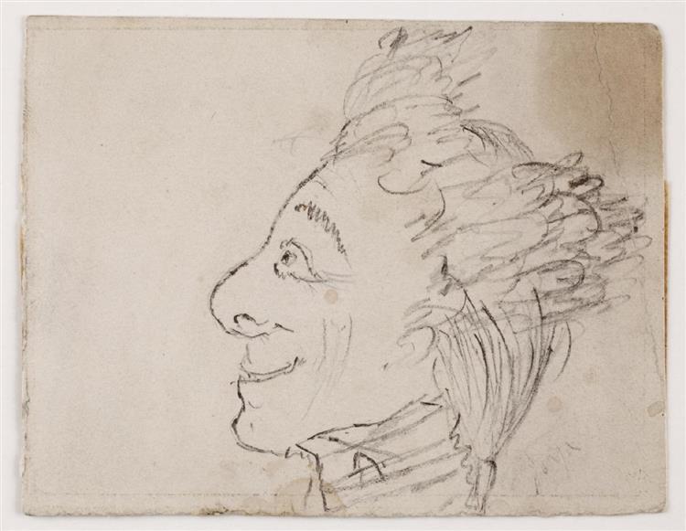 Esbozo De Goya Repasado Por Weiss, 1821 - 1824 - Rosario Weiss Zorrilla