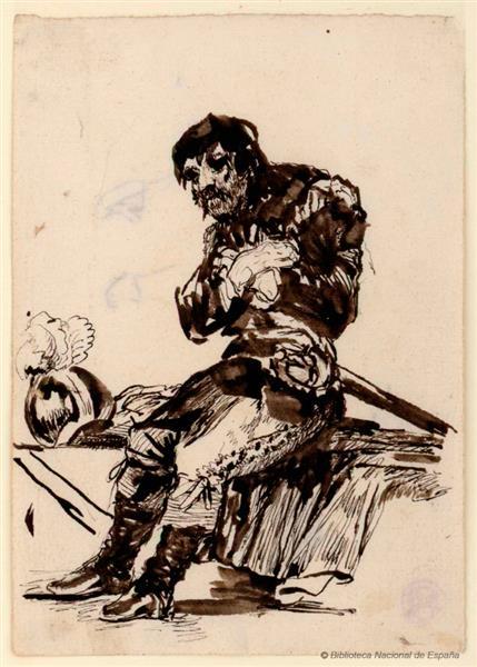Soldado Francés, 1821 - 1824 - Rosario Weiss Zorrilla