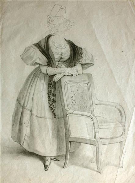 Figura Femenina - Rosario Weiss Zorrilla