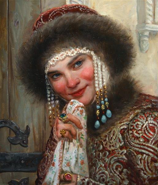 Молодая княжна, 2018 - Andrey Shishkin