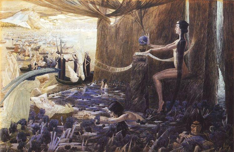 Fate, 1894 - Carlos Schwabe