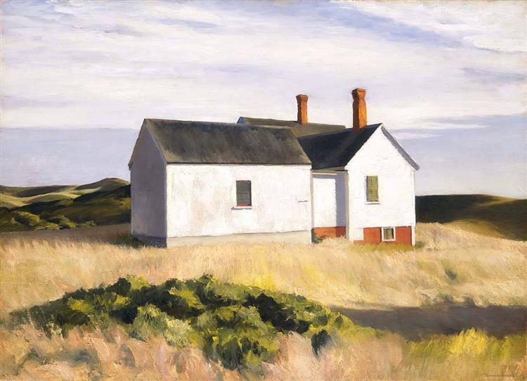 Ryders House, 1933 - Edward Hopper
