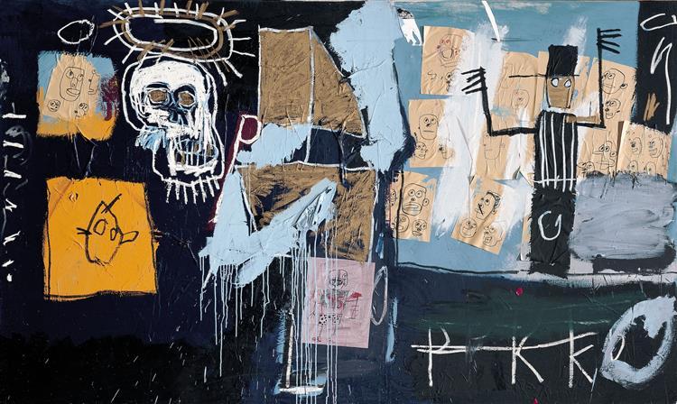 Slave Auction, 1982 - Jean-Michel Basquiat