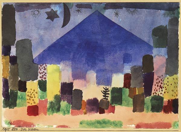 Mount Niesen, 1915 - Paul Klee