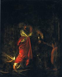 Ceres in the House of Hecuba - Adam Elsheimer