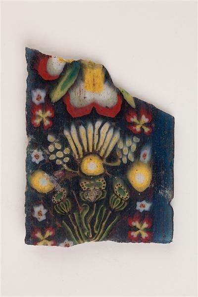 Floral Plaque, c.100 BC - c.100 AD - Ancient Egypt