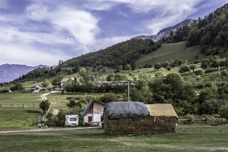 Rural Transylvania - Sophie de Roumanie