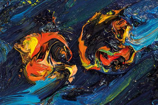 TausendSterne-Diptychon-Detail-2011 - Harry Meyer