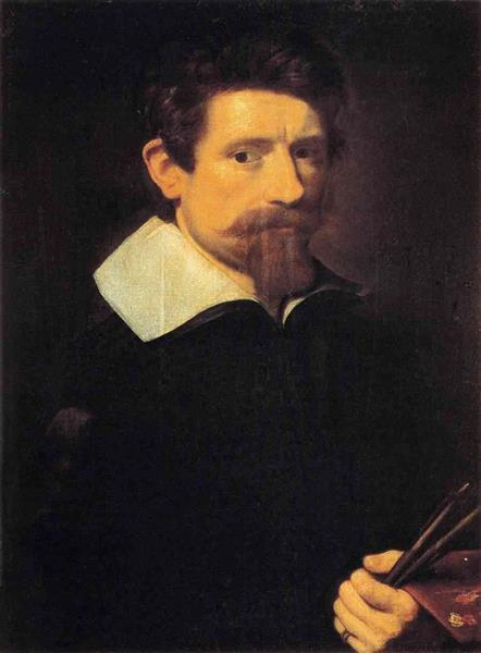 Self-portrait, c.1607 - Адам Эльсхаймер