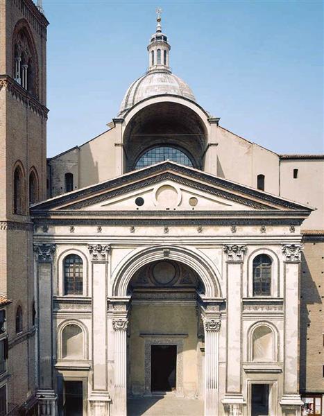 Sant'Andrea, Façade (Mantua), c.1472 - Leon Battista Alberti