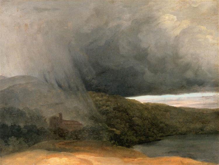 Storm by a Lake, 1780 - Pierre-Henri de Valenciennes
