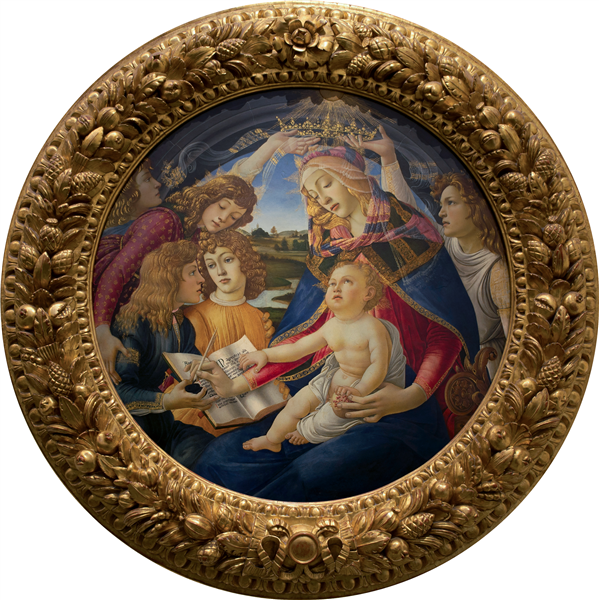 Madonna of the Magnificat, 1480 - 1481 - Sandro Botticelli