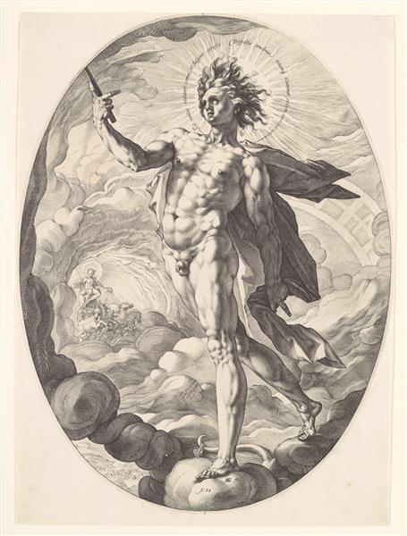 Apollo - Hendrick Goltzius