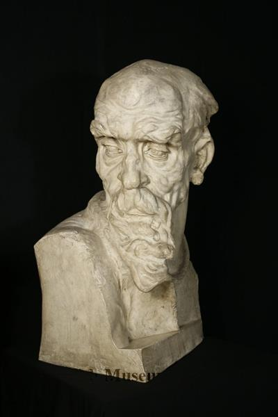 Head of my Father, c.1913 - Stanisław Szukalski