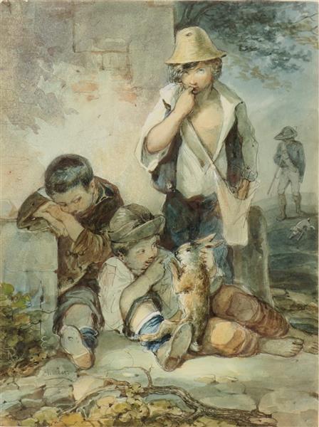 Les Petits Braconniers - Charlet