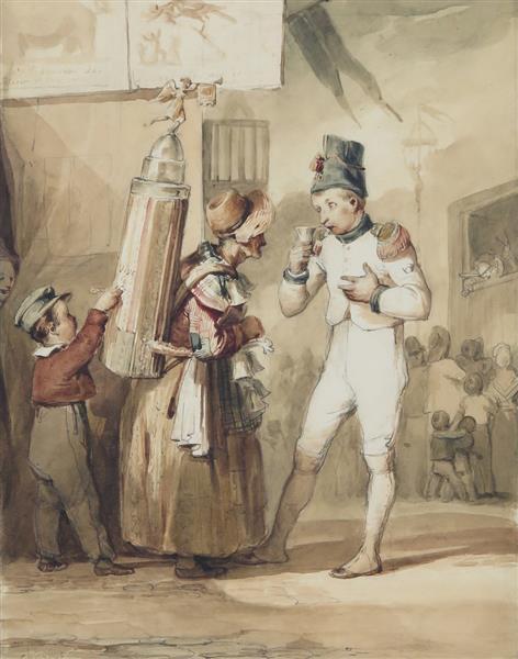 """""""Vive Le Coco !"""" La Porteuse D'absinthe - Charlet"""