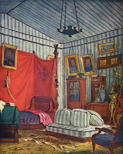 The Duke of Morny's Apartment, 1831 - 1832 - Eugene Delacroix