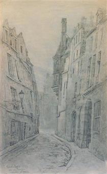 Paris, Quartier St Paul, Rue Du Figuier - Fernand Combes