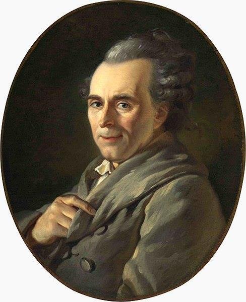 Portrait of Michel-Jean Sedaine, c.1772 - Jacques-Louis David