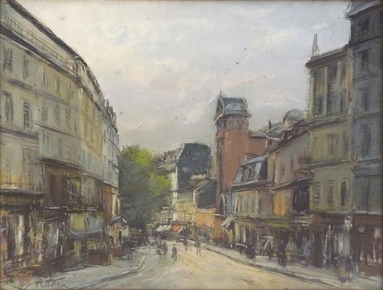 Paris, Montmartre, La Rue Des Abbesses - Pierre-Jacques Pelletier