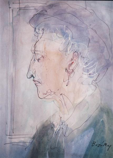 Old Lady, c.1994 - Maria Bozoky