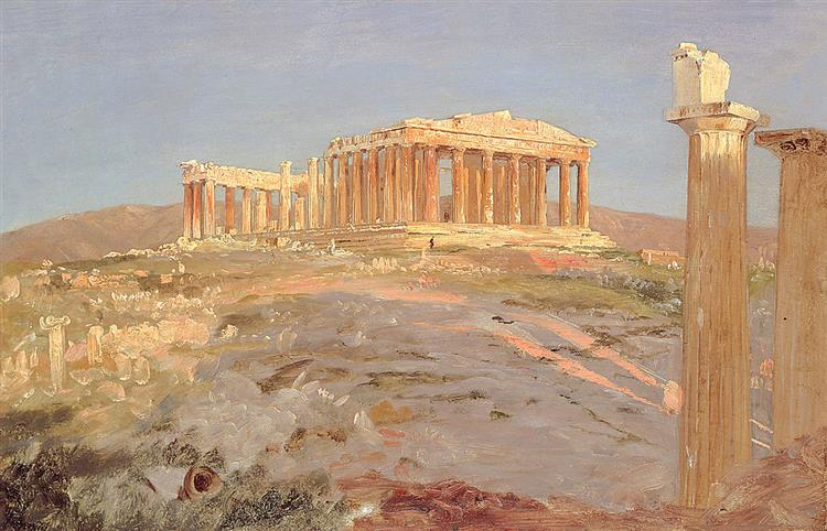 Parthenon, 1869 - Frederic Edwin Church