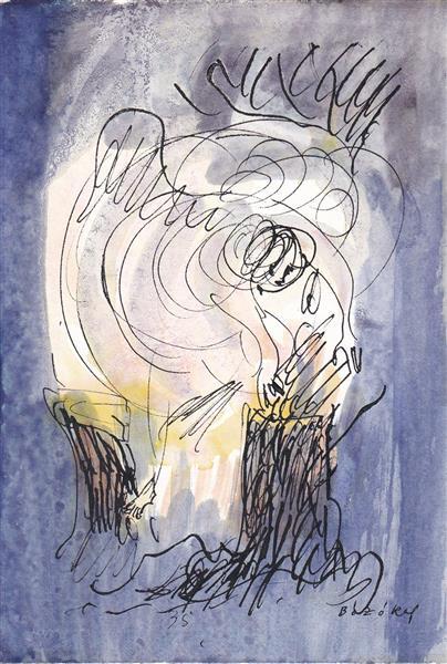 CSOKONAI: The Cyclon Breaking Trees (Summer), 1983 - Maria Bozoky
