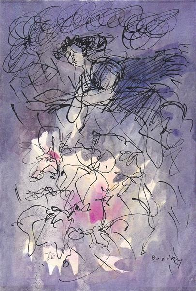 Csokonal: Torrent Rain (Summer), 1983 - Maria Bozoky