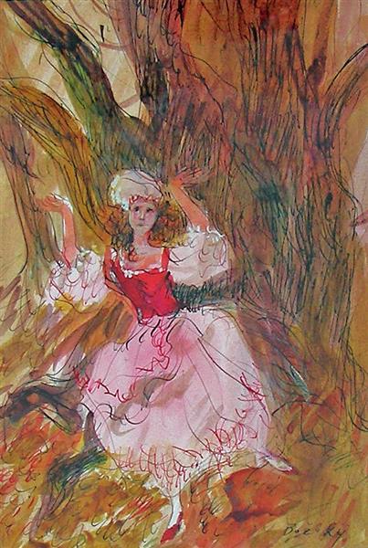 Vörösmarty: Csongor and Tünde, 1995 - Maria Bozoky