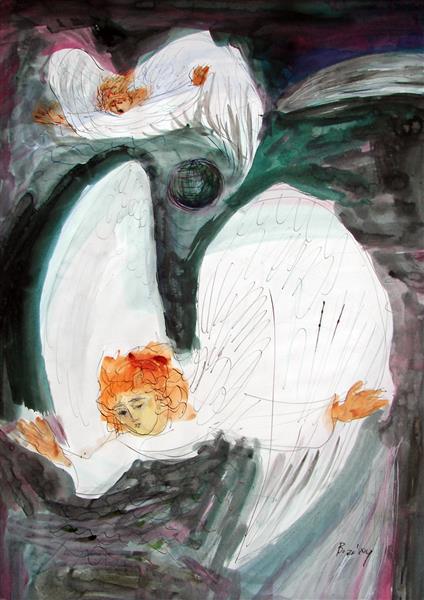 Apocalyptic Angels, 1995 - Maria Bozoky