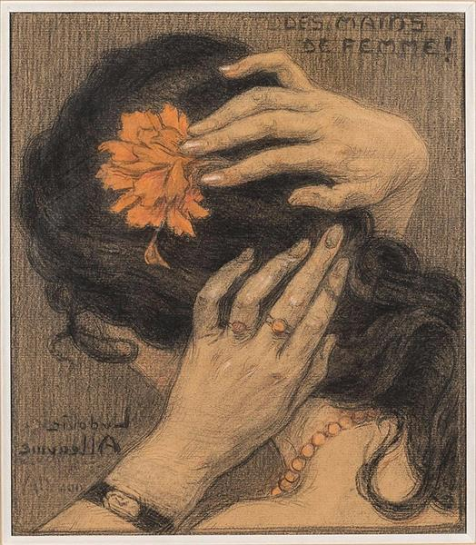 Woman's hands - Ludovic Alleaume