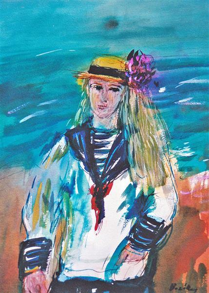 PROUST: Albertine disparue, c.1994 - Maria Bozoky