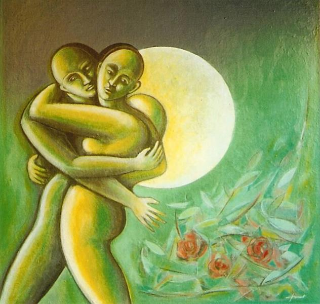 The offended Moon, 2002 - Joan Tuset