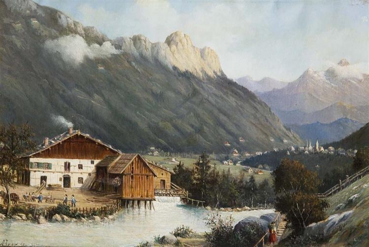 Berchtesgaden, 1889 - Antonietta Brandeis