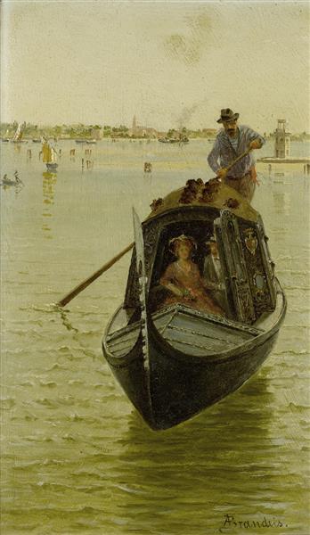 Venetian Gondola - Antonietta Brandeis