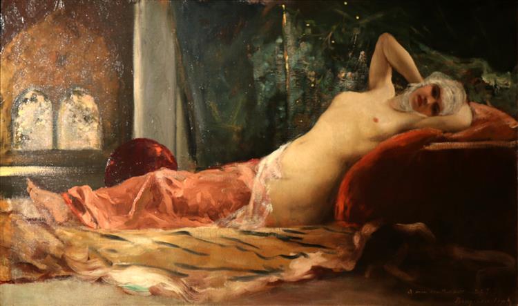 Odalisque - Benjamin Constant