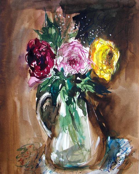 Roses, 1994 - Maria Bozoky
