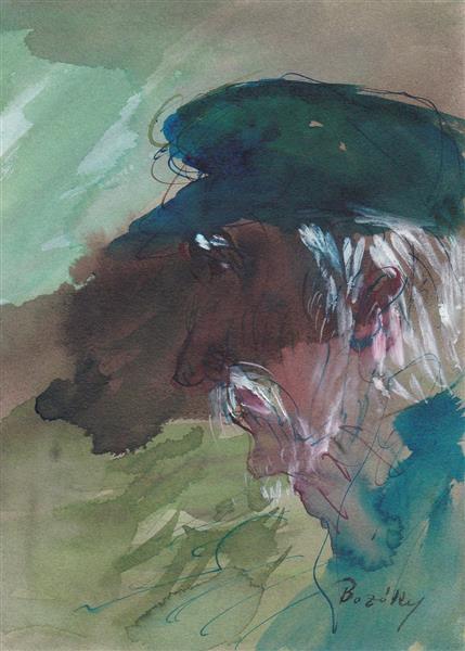 Claudel:Cinq grandes odes (IV) Comme la mer...., c.1986 - Maria Bozoky