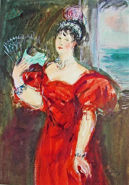 The Queen of Naples, 1993 - Maria Bozoky
