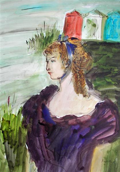 At the Beach, 1993 - Maria Bozoky