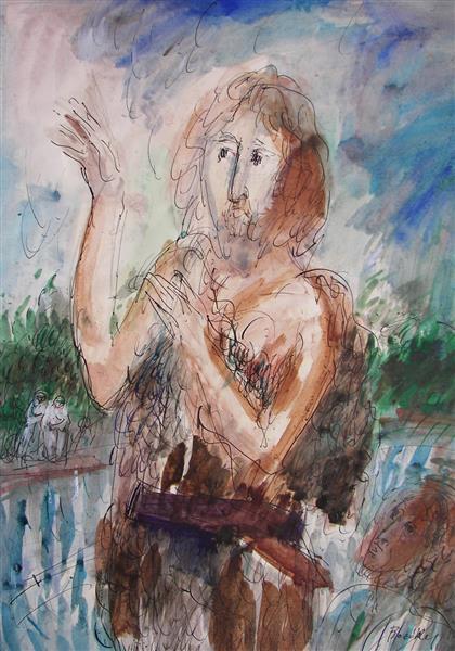 Saint John the Baptist, 1985 - Maria Bozoky
