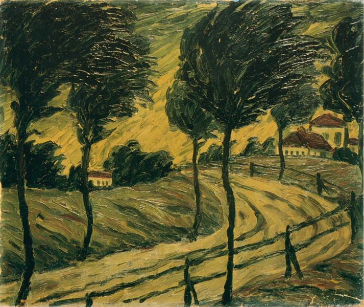 Storm B3, 1915 - Walter Gramatté