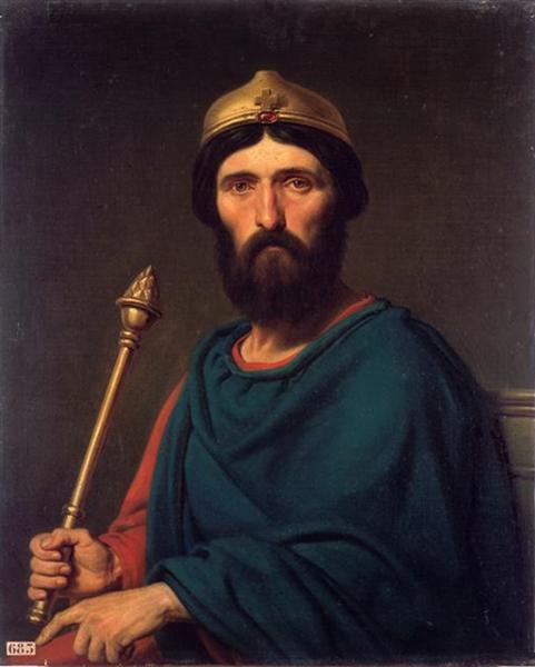 Louis IV of France - Charles de Steuben