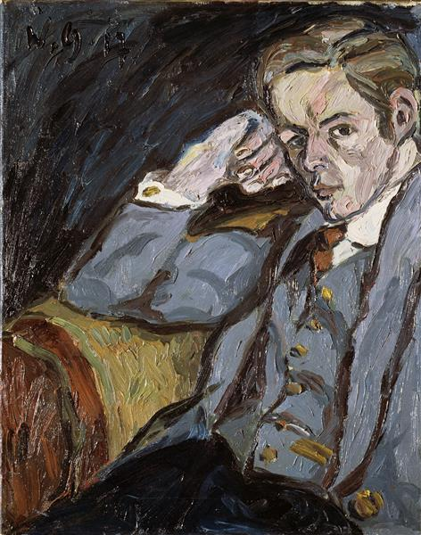 Portrait H. K., 1917 - Walter Gramatté
