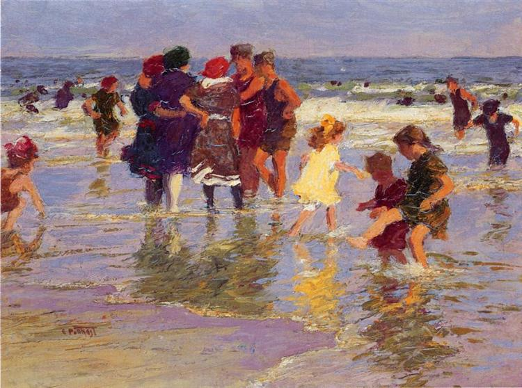 A July Day, 1914 - Edward Henry Potthast